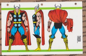 Official Handbook of the Marvel Universe Sheet - Thor