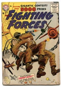 Our Fighting Forces #12 1956- Parachute cover FN+