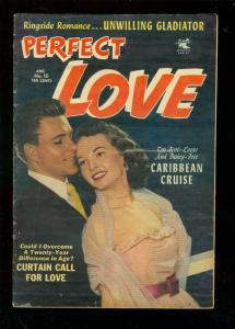 PERFECT LOVE #10 1953-PHOTO COVER-CARIBBEAN CRUISE-BOX VG