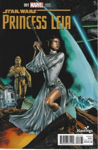 star wars Princess Leia #001