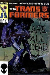 Transformers (1984 series) #5, Fine- (Stock photo)