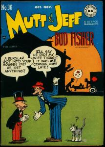 Mutt & Jeff #36 1948- Bud Fisher DC Golden age- FN-