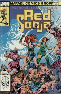 Red Sonja (Feb 1983 series) #2, VF+ (Stock photo)