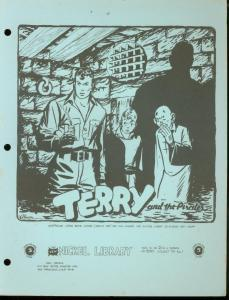 NICKEL LIBRARY #21-TERRY & PIRATES-EISNER & CANIFF FN