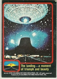 Close Encounters of the Third Kind Trading Cards