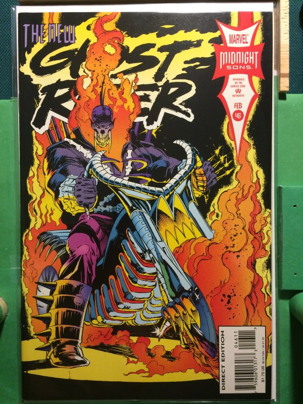 Ghost Rider #46 vol 2 The New Ghost Rider