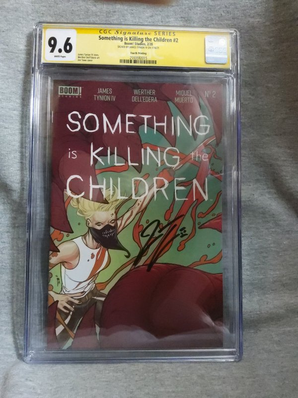 Something Is Killing The Children 2 CGC 9.6 Fourth Print-Signed James Tynion IV