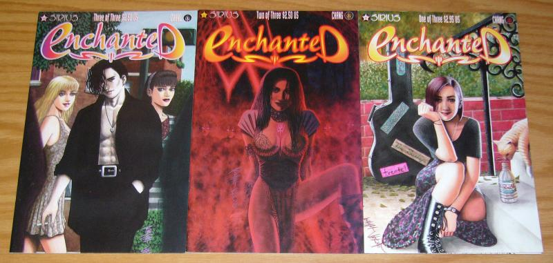 Enchanted #1-3 VF/NM complete series - sirius - robert chang set lot 2