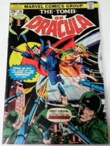 Tomb of Dracula #36 (VG/F) 1975 Bronze Age Marvel Horror ID#09A