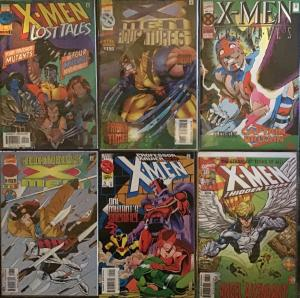 6 X-MEN (MARVEL) TITLES ALL NM CONDITION