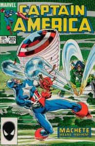 Captain America #302 (ungraded) stock photo ID#B-1