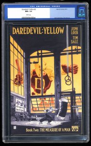Daredevil: Yellow #2 CGC NM+ 9.6 White Pages