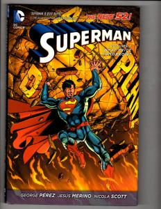 Superman Vol. # 1 What Price Tomorrow? HARDCOVER DC Comics Graphic Novel J302