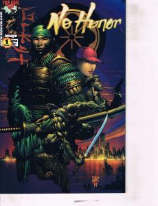 Lot Of 2 No Honor Image Comic Book #1 4   AB7