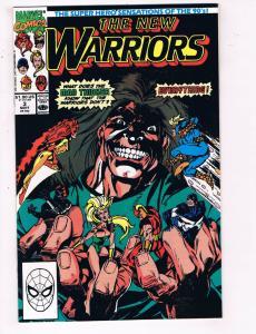 The New Warriors #3 VF Marvel Comics Comic Book Sept 1990 DE24