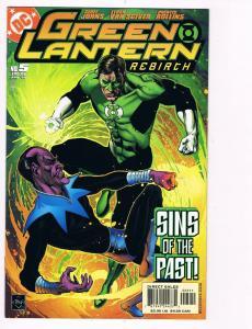 Green Lantern Rebirth # 5 DC Comic Books Great Issue Green Lantern Sinestro! S24