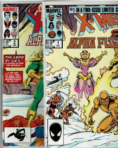 X-Men & Alpha Flight #1-2, 9.0 or Better