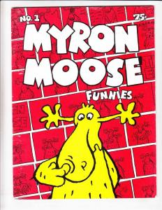 Myron Moose Funnies #1 FN (1st) print BOB FOSTER underground comix 1971