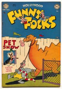 Hollywood Funny Folks #46 1952- Nutsy Squirrel- VF