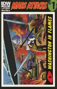 Mars Attacks (3rd Series) #1A (5th) VF/NM; IDW | save on shipping - details insi