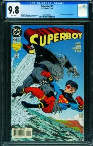 SUPERBOY #9 CGC 9.8 1994-1st King Shark 2015993012