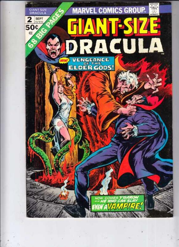 Giant-Size Dracula #2 (Sep-74) VF/NM High-Grade Dracula