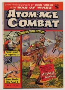 Atom Age Combat (1952 St. John) #3 FN+