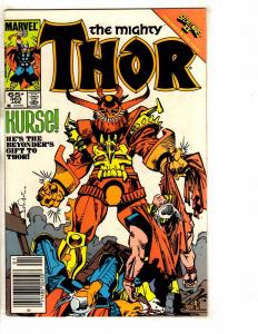 Lot Of 7 Mighty Thor Marvel Comic Books # 296 304 305 310 363 466 467 RM4