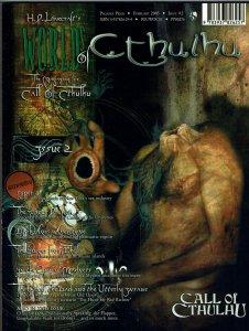 H. P. Lovecraft's Worlds of Cthulhu #2 Call of Cthulhu Magazine HTF Rare NM
