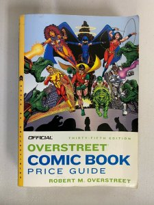 Overstreet Price guide #35 Softcover 4.0 VG (2005)