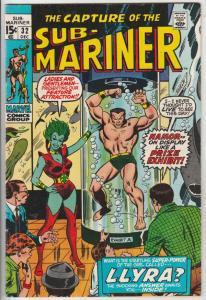 Sub-Mariner #32 (Dec-70) FN Mid-Grade Sub-Mariner (Prince Namor)