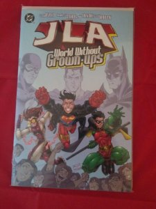 DC Comics JLA World Without Grown-ups Justice League Of America tpb NM
