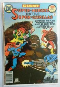 Super-Heroes Battle Super-Gorillas #1, 4.0 VG (1976)
