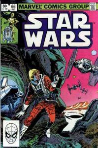 Star Wars (1977 series) #66, Fine+ (Stock photo)