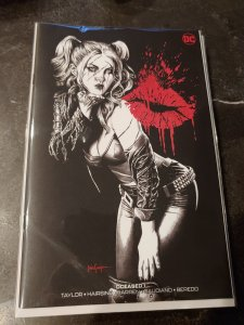 DCEASED #1 (OF 6) MICO SUAYAN B&W EXCLUSIVE