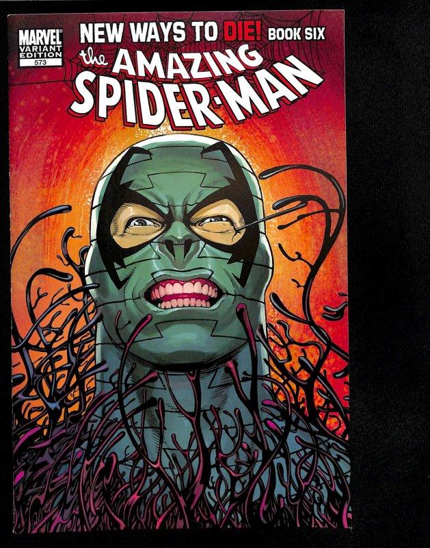 Amazing Spider-Man #573 McGuinness Variant