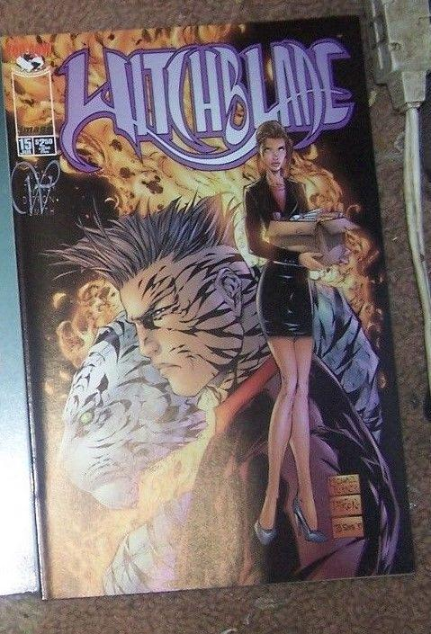Witchblade #15 (Jul 1997, Image) michael turner cover +sara pizzini