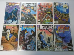 Detective Comics lot 26 different from #600-649 avg 8.0 VF (1989-92)