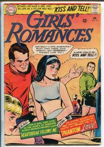 Girls' Romances #114 1966-DC-Phantom Love-bizarre story-classic issue-VG