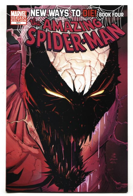 AMAZING SPIDER-MAN #571-Variant cover-Marvel comic book 2008