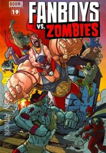 Fanboys Vs. Zombies #19 VF/NM; Boom! | save on shipping - details inside
