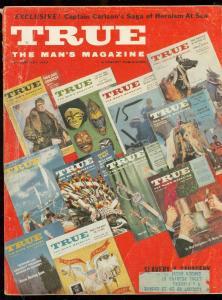TRUE MAGAZINE JAN 1959-ARAB DISMEMBERMENT TORTURE-PULP VG