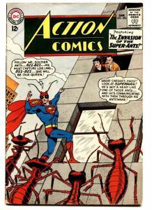 ACTION COMICS #296 comic book 1963-SUPERMAN-ANT COVER-DC COMICS-VG