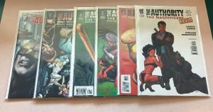 The Authority The Magnificent Kevin 1 2 4 5 Lobo Garth Ennis Near Mint Lot Set