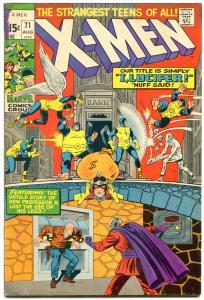 X-MEN #71 1970- reprint issue- Marvel Comics FN