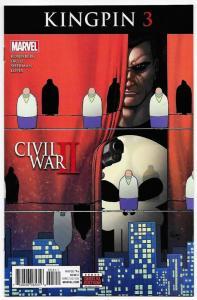 Civil War II Kingpin #3 (Marvel, 2016) NM