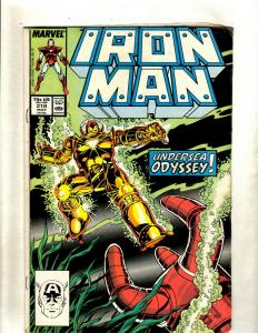 12 Iron Man Marvel Comics #218 234 237 239 240 243 249 259 263 266 268 269 J369