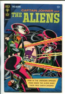 THE ALIENS #1 1962-7-GOLD KEY-1ST ISSUE-RUSS MANNNING ART-vf