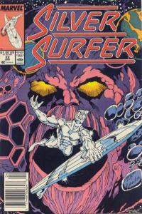 Silver Surfer (1987 series) #22, NM- (Stock photo)
