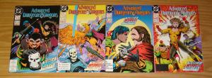 Advanced Dungeons & Dragons: the Spirit of Myrrth #1-4 VF/NM complete story  set
